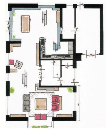 Pin indeling stacaravan niet op schaal on pinterest for Huis inrichten op schaal